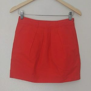 Madewell Broadway & Broome 100% Cotton Tulip Skirt